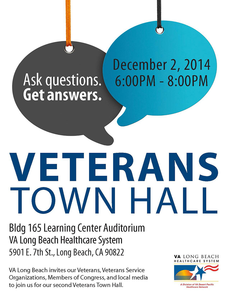 Va Long Beach Town Hall Invitation Vva Ca State Council